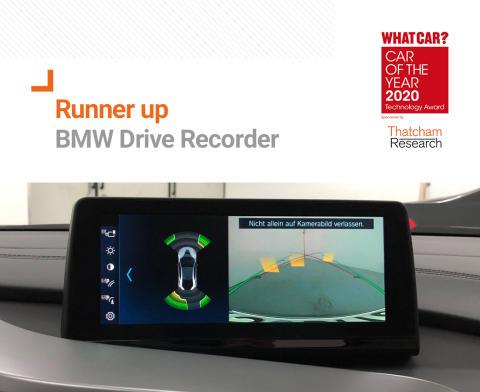 What Car? Technology Award runner up - BMW Drive Recorder
