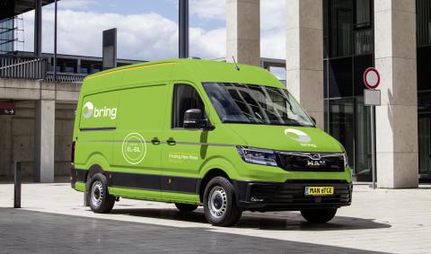 Bring satser på elektrisk pakkelevering i København.