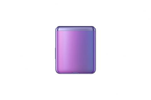 sm_f700f_galaxy z flip_closed back_purple mirror_191224