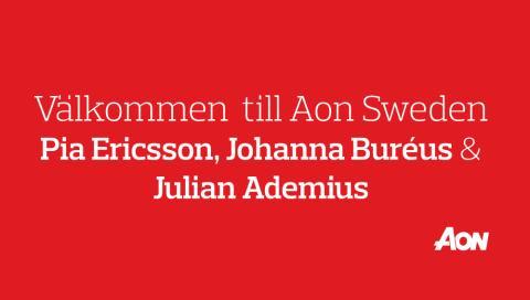 Aon Sweden har rekryterat ytterligare tre nya medarbetare