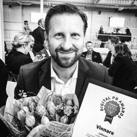 Löfbergs vann Digital PR Awards