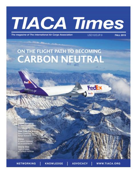 On the flight path to becoming carbon neutral