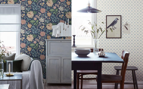 Boråstapeter introduces Beautiful Traditions – a dream collection for rural romantics