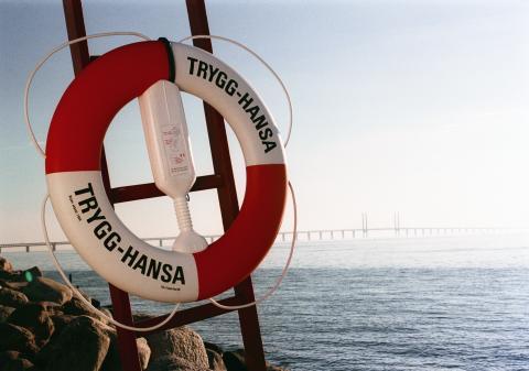 Trygg-Hansa_livboj Öresundsbron