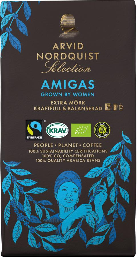 Nytt kaffe stöttar kvinnliga kaffeodlare