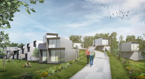 Dyson Institute of Engineering and Technology Accommodation render