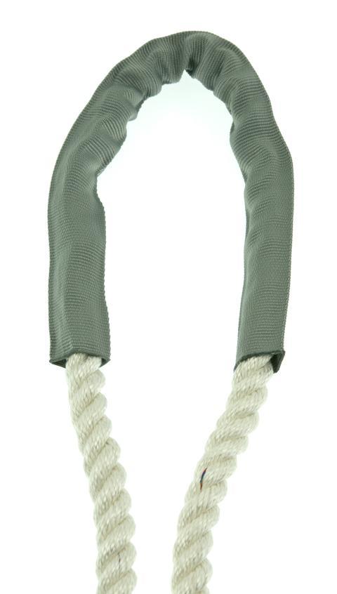 PolyRopes PROTECT slitskydd, silvergrå