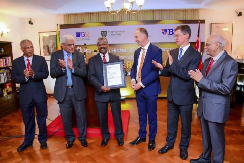Partnership raises Northumbria's profile in Sri Lanka