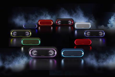 Забавлявайте се навсякъде с безжичните EXTRA BASS™ колонки и слушалки от Sony