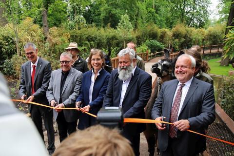Zoo Leipzig - Eröffnung von Südamerika - Teil 1