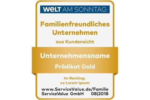 Über 470 Unternehmen von Familien bewertet