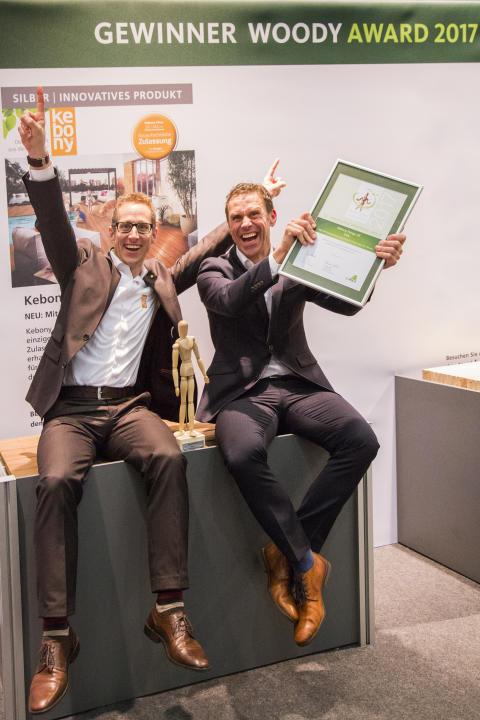 Innovatives Produkt: Woody Award für Kebony