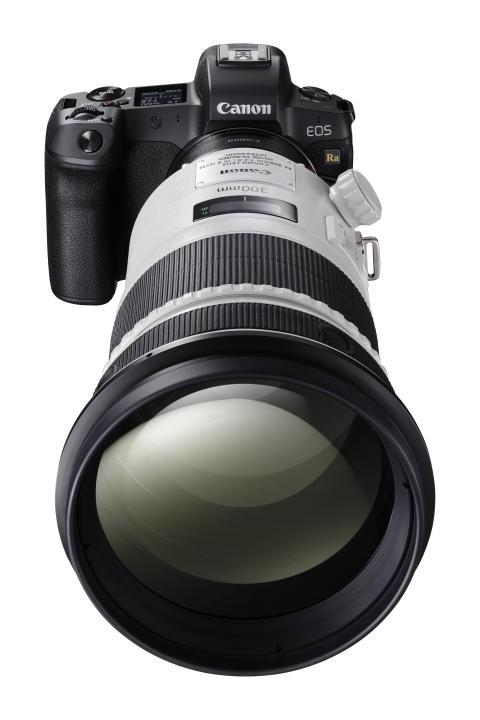 Canon EOS Ra Mount Adapter EF-EOS-R EF 300mm F 2.8L IS II USM FRA