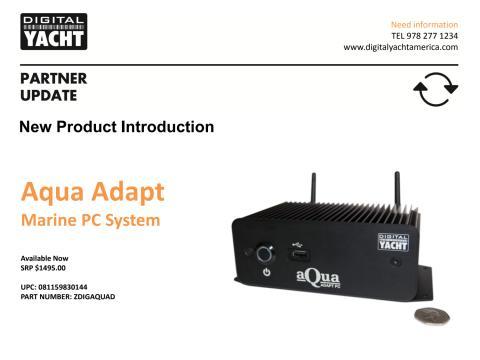 Digital Yacht Aqua Adapt Marine PCs Now Shipping in US