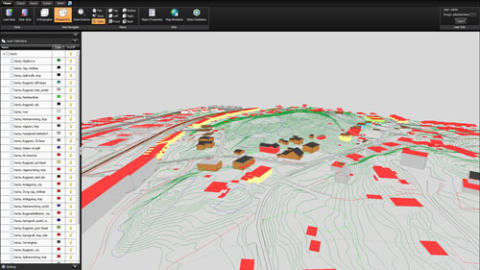 Publish maps and point clouds on the web - in five dimensions