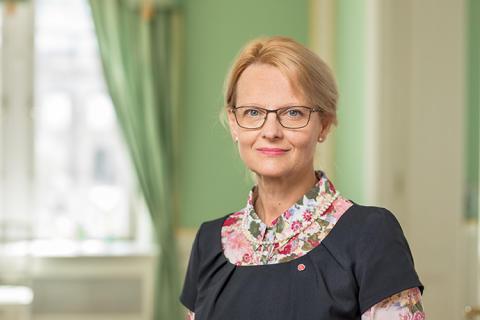 Migrationsminister Heléne Fritzon till Europaforum Hässleholm