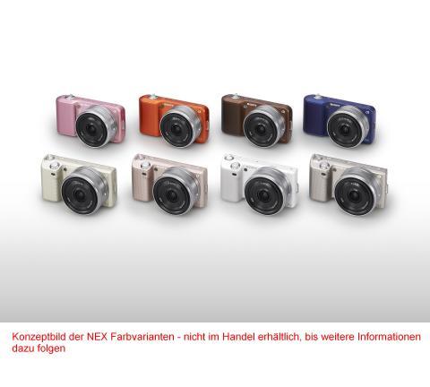 Photokina_NEX_Farbvariation von Sony_02