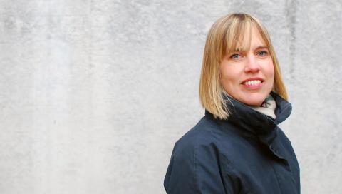 Linda Kanders, industridoktorand vid Mälardalens högskola.