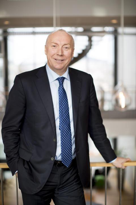 VOKSER. Kjell Rusti fastslår at Sopra Steria leverte gode 2017-resultater.