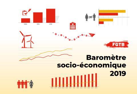 Baromètre socio-économique 2019 de la FGTB : Pour plus de qualité et de sécurité
