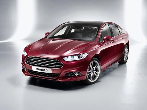 Ford avduker helt ny Mondeo: Flaggskip med premium design, avansert teknologi og 1.0-liters EcoBoost-motor.