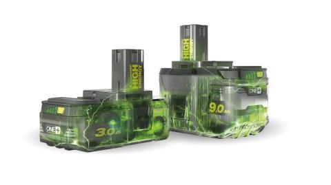 RYOBIN uudet Lithium+ High Energy -akut