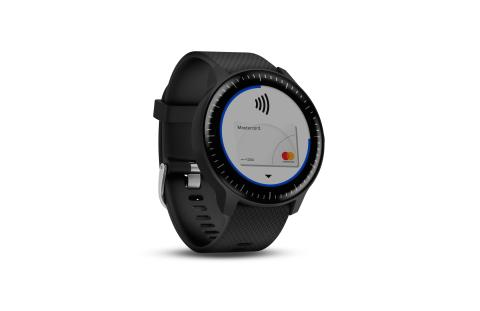 vivoactive 3 Music Mastercard right