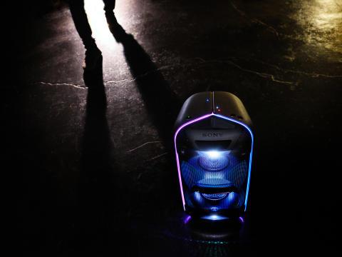 Sony introduceert de nieuwe GTK-XB72 EXTRA BASS partyspeaker