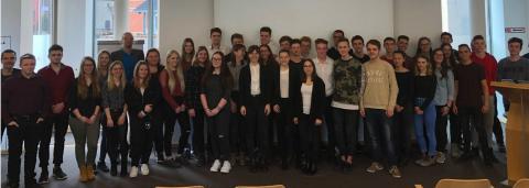 Deutscher Gründerpreis für Schüler: Kick-off-Veranstaltung im Sparkassentreff 1a in Sömmerda