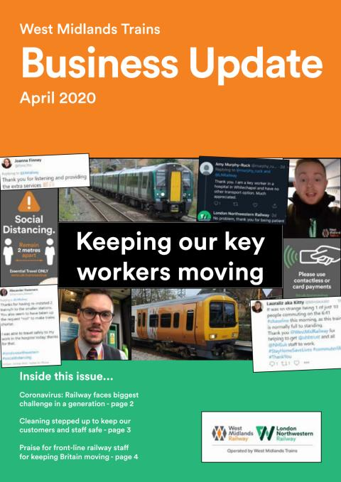 West Midlands Trains Business Update - April 2020