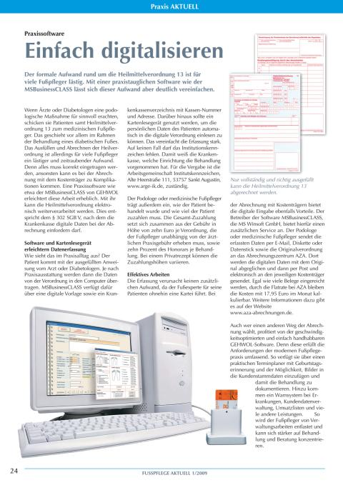 Praxissoftware: Einfach digitalisieren