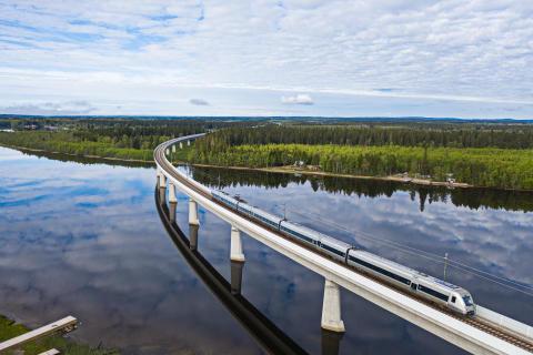 SJ bäst i Sverige på inrikesresor – vinner Grand Travel Award 2020