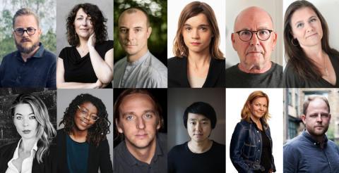 Litterära stipendier på 100 000 kr var till tolv författare