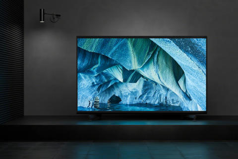 Sony lanserar 8K HDR LED-TV i superstorlekar
