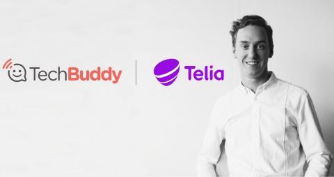 Telia och TechBuddy gör slut på teknikstrulet i Sverige