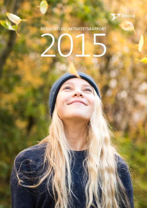 Enovas resultatrapport 2015