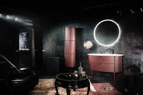 Klassische Ellipsenform: Das trendgerecht gestraffte Design steht Diva 2.0 von burgbad gut