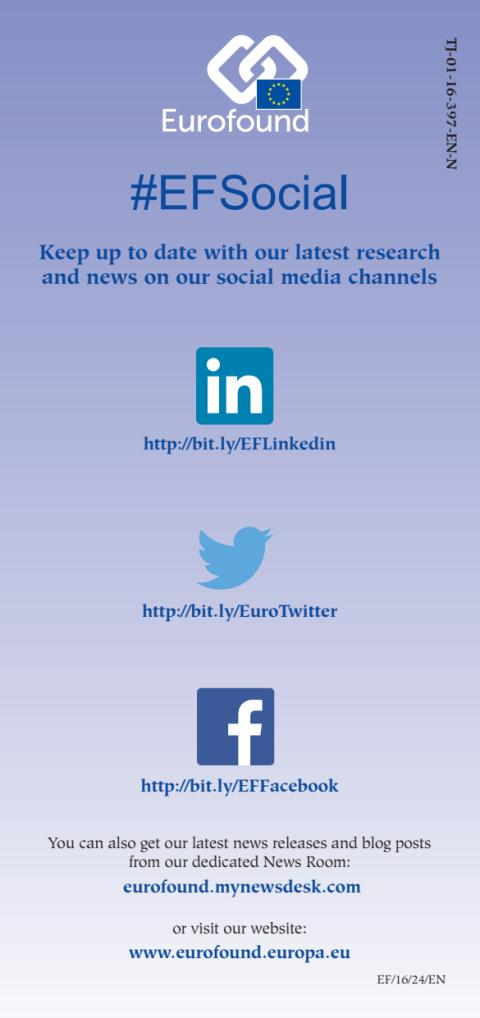 Keep up to date with our latest research and news on our social media channels