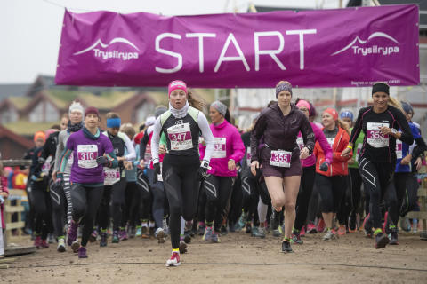 Starten Trysilrypa 6 km løp