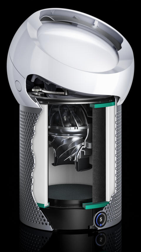 Dyson Pure Cool Me_Cutaway