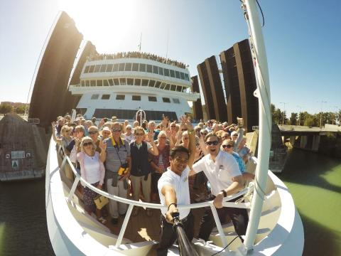 Fred. Olsen Cruise Lines brings you 'closer' to your destination!
