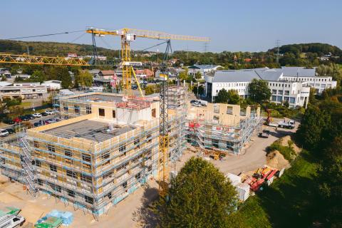 Universität Witten/Herdecke: Start der Holzbauarbeiten für den Campus-Neubau