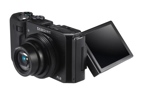 Ljusstarkaste objektivet i Samsungs proffsiga kompaktkamera