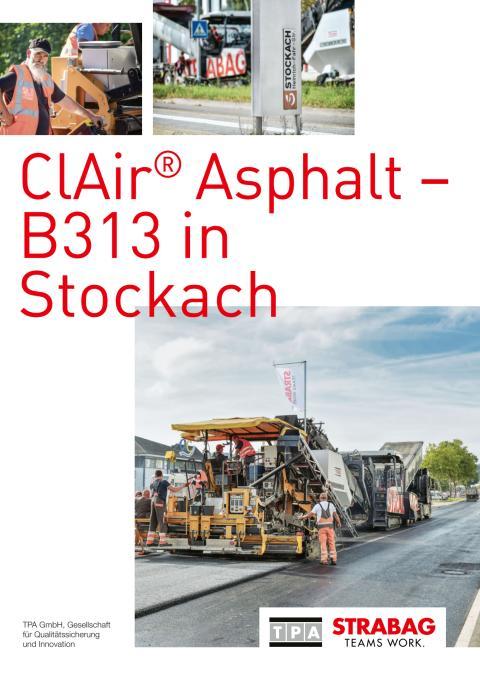 ClAir® Asphalt – B313 in Stockach