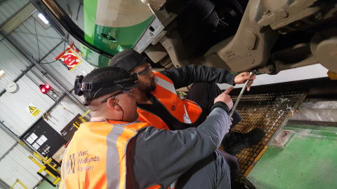 West Midlands Trains supports Year of Engineering