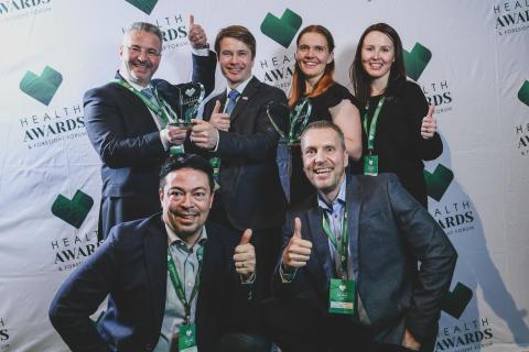 Jyrängön koulu ja Precordior palkittiin Health Awards 2019 -voittajina