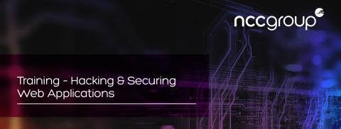 Training Course: Hacking and Securing Web Applications