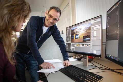 Tett samarbeid mellom fagfolk og designere