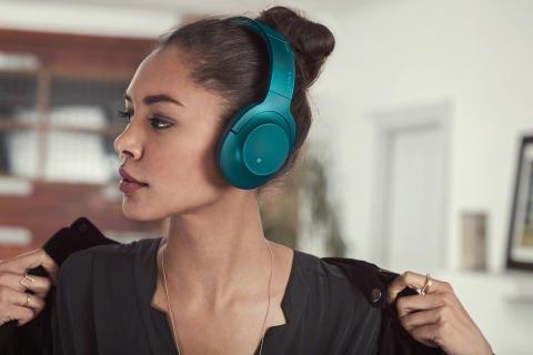 Die neuen Kopfhörer von Sony entführen Sie in brillante Klangwelten