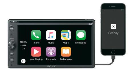 XAV-AX205DB_Front_Apple_CarPlay_Home-Mid